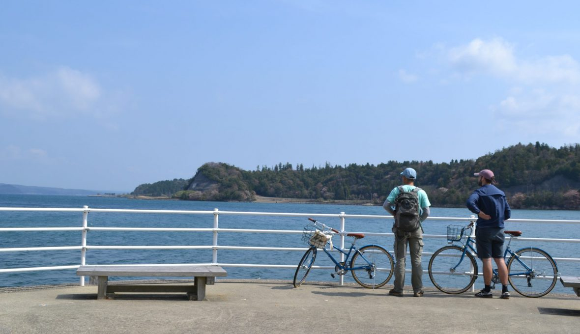能登島を巡るサイクリングツアー